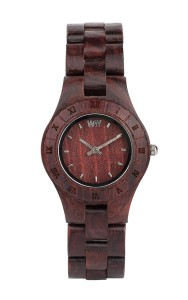 We-Wood Moon Brown (32 mm wooden watch) $125 US, cheaper on Amazon