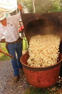 Mmm, locally made kettle corn! (well, photo is from Virginia! from grit.com)