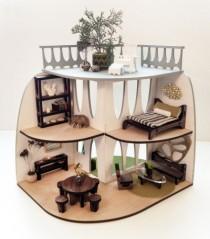 Doll house by 3 Star Studio shown @ Design MIlk