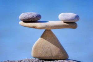 Can I get the ins and outs to balance? Photo: smartfulcoaching.com