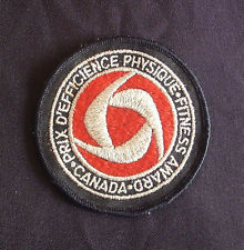 1970s Canada Fitness Test Badge