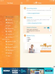 Cozi app