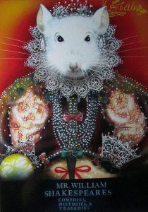 Postcard of her majesty Elizabeth I