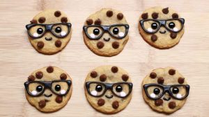 Beautiful brainy cookies by Rosanna Pansino /Nerdy Nummies on YouTube