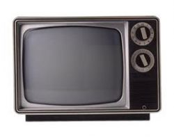 When your TV looked like an old microwave...