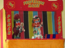 Punch and Judy, Bluebell Railway, Sussex UK